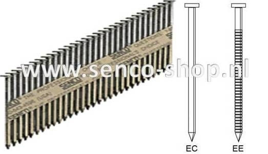Senco Stripspijker Ø2,3 EC54APBKR 60MM blank doos a 2.000 stuks