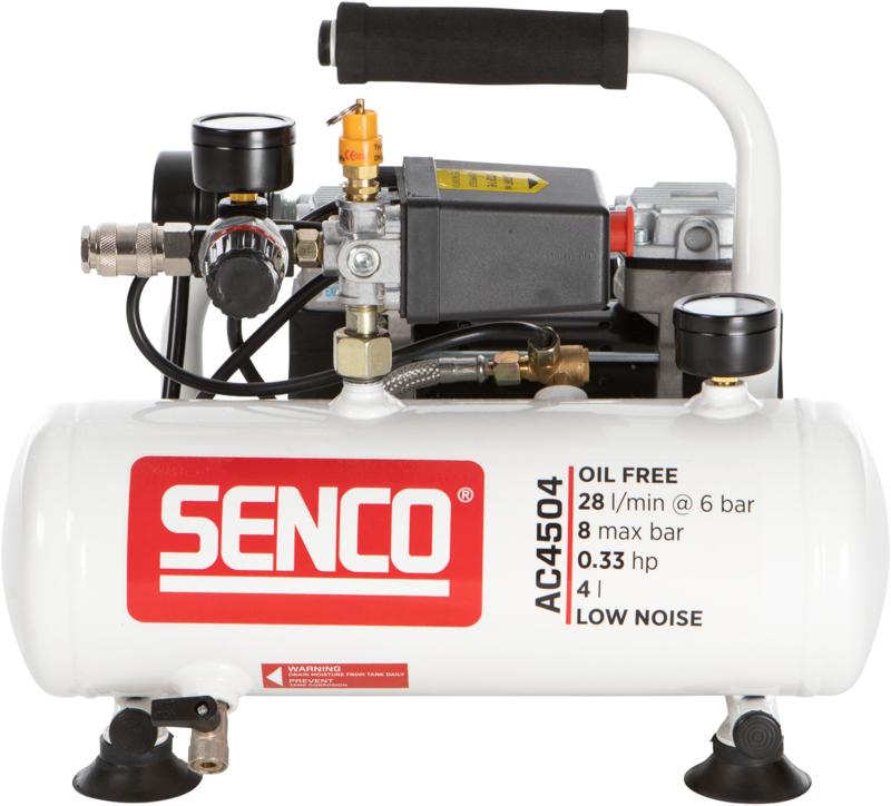 Senco geluidsarme compressor AC4504
