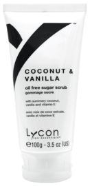 Lycon - Coconut & Vanilla Sugar Scrub Tube 100ml