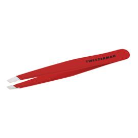 Tweezerman - Slant Tweezer Signature Red