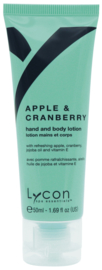 Lycon Apple & Cranberry Hand & Body Lotion  Tube 50ml