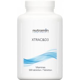 Nutramin - XTRAC&D3 500 caps