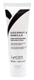 Lycon Coconut & Vanille Hand & Body Lotion Tube 50ml