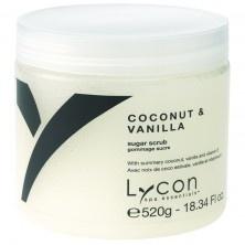 Lycon - Coconut & Vanilla Sugar Scrub 520gr