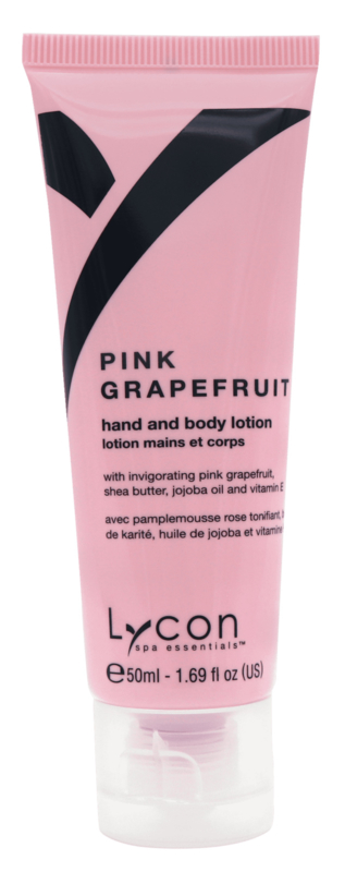 Lycon Pink Grapefruit Hand & Body Lotion Tube 50ml