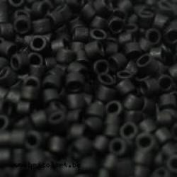 Miyuki Delica 11/0 nr DB-310 - 5 gram - Matt opaque black