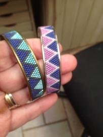 Armbanden met Delica's gemaakt door Annemie