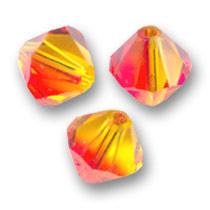 Pakketje Swarovski Cones  - Oranje  / Nr 1344