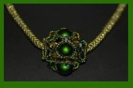 Nancy -  Sparkling Beaded Bead