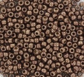 Miyuki Rocaille  8/0  Nr 4213F - 10 gram /  Duracoat Galvanized Dark Mauve