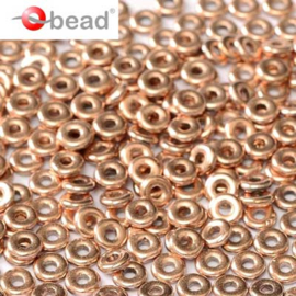 O bead  Crystal Capri Gold Full 2x4mm / 5 gram / KD60016