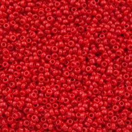 Miyuki Roc 11/0 nr 0408 -  10 grammes - Opaque Red