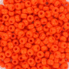 Miyuki Rocaille  8/0 Nr 0406 - 10 gram / Opaque orange