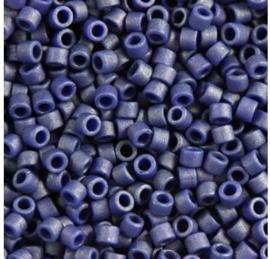 Miyuki Delica 11/0 nr DB-377 - 5 gram - Metallic matte  royal blue