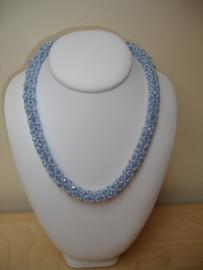 Pakketje - Valentina - Nr 1054 - Grijsblauw - Wit