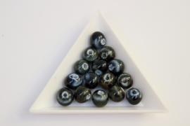 Porcelaine Vert-blue/ 10mm / K018