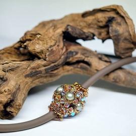 Andrea - Sparkling Beaded Bead