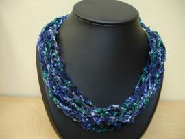 Blauw - Groen - Purper / Nummer 9