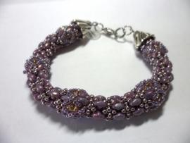 Patroon Duo mania met superduo beads