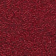 Miyuki Delica 11/0 nr DB-2119 - 5 gram - Jujube Duracoat Opaque Dyed