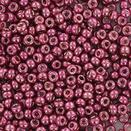 Miyuki Rocaille 11/0 Nr 4219 - 10 grammes / Silverlined alabaster dyed dark rose
