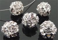 Bol Strass kristal 8mm / 2 stuks / KD7130