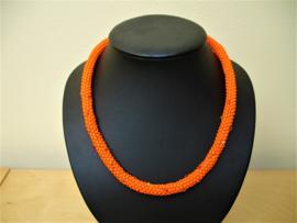 Pakketje - Leonora  - Nr 1068 - Oranje zoals foto met  Swarovski's