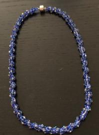Halskettingen gemaakt door Peggy