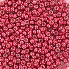 Miyuki Rocaille  11/0 -  Nr 4211 -  10 grammes - durac. galvanized light cranberry
