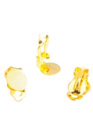 Clips Boucles d'oreilles 16x10mm / Par paire / KD26714