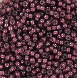 Miyuki Rocaille 8/0 Nr 0386 - 10 gram / Fancy lined aubergine