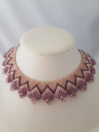 Halsketting gemaakt door Saida