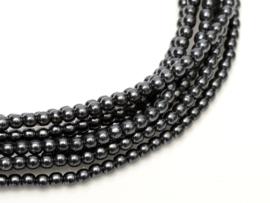 Hématite noir  6mm / 100 pcs / KD111