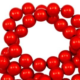 Rood Miracle Beads Ca 4mm / +/- 350 stuks / KD47381