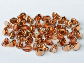 Pinch beads 5 x 3 mm Crystal Sunset / 10 grammes / KD60001
