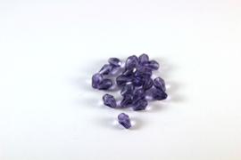 Facettes Cristal goutte d'eau 6mm / 20 pcs / KD075