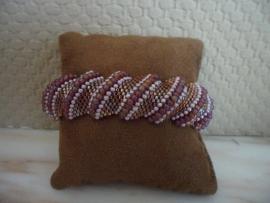 Patroon Flat Cellini armband, rijgpatroon