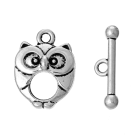 Fermoir Toggle - Hibou / par set/ KD791
