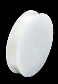 Elastische draad  0,6mm / Rol  Ca 30 meter / KD265