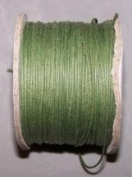 Cordon cire Vert Olive / K250