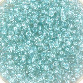 Miyuki Rocaille  11/0  - Nr  3638  - 10 gram - Fancy lined soft aqua