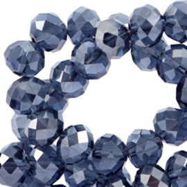 Montana Blauw diamond 4x3mm / 150 stuks / KD34424