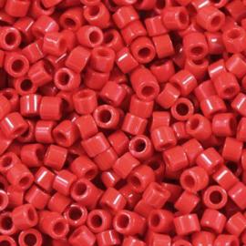 Miyuki Delica  11/0 Nr DB-0723 - 5 grammes -  Opaque red