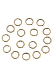 Anneaux Bronze 8mm  / ca 80 pièces / KD24167