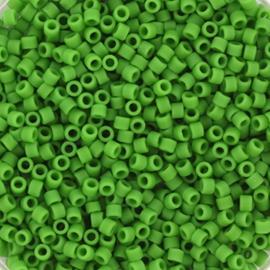 Miyuki Delica  11/0 Nr DB-754- 5 grammes - Vert pois  Opaque Mat