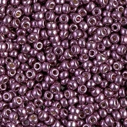 Miyuki Rocaille 8/0 Nr 4220 - 10 gram / Duracoat Galvanized Eggplant