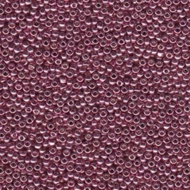 Miyuki Rocaille  15/0  - Nr 4218  - 5 grammes - Duracoat Galvanized Dusty Orchid