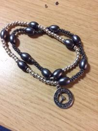 Bracelet fait par Syntia et filles