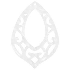Pendentif baroque goutte  42x60 / 2 pièces / KD65538