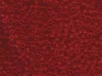 Miyuki Rocaille 8/0 Nr 0141F - 10 gram / Matte transparent red